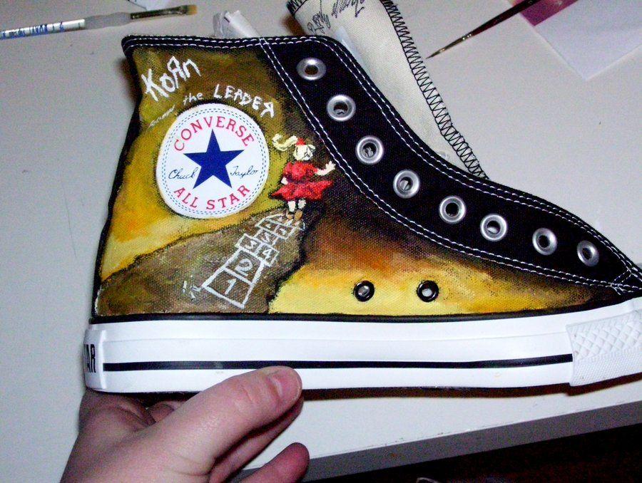 KoRn Converse by TAZmaniandevil13.deviantart.com on @deviantART ...