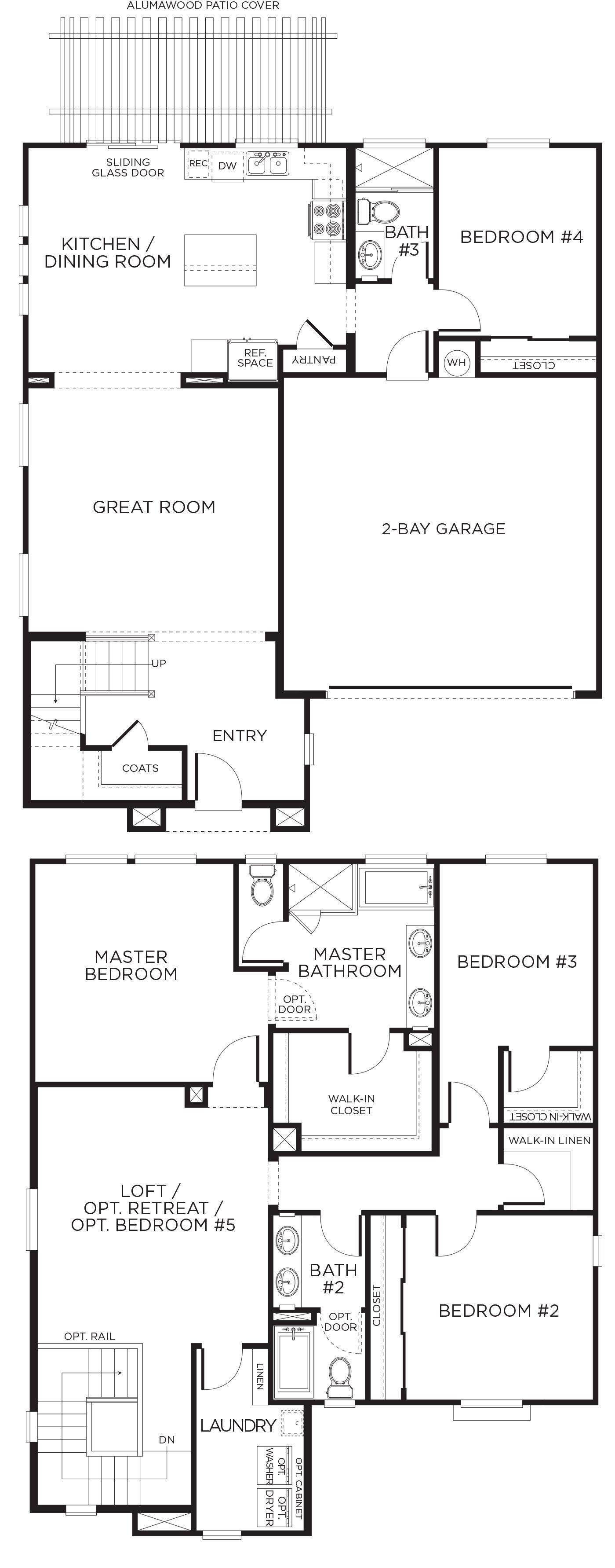 Summerglen Plan 2b Love Having Living Areas And Guest