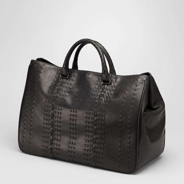 Bottega Veneta Nero Highway Tote