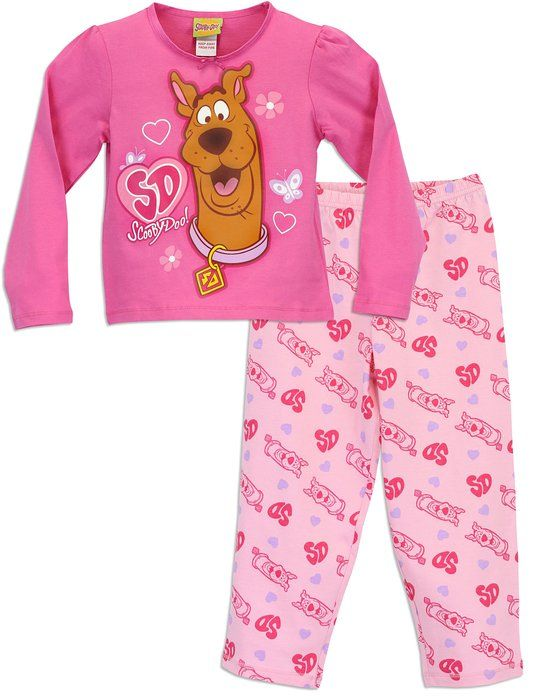 e1d6ddeba5 Character Girls Scooby Doo Pajamas Size 5