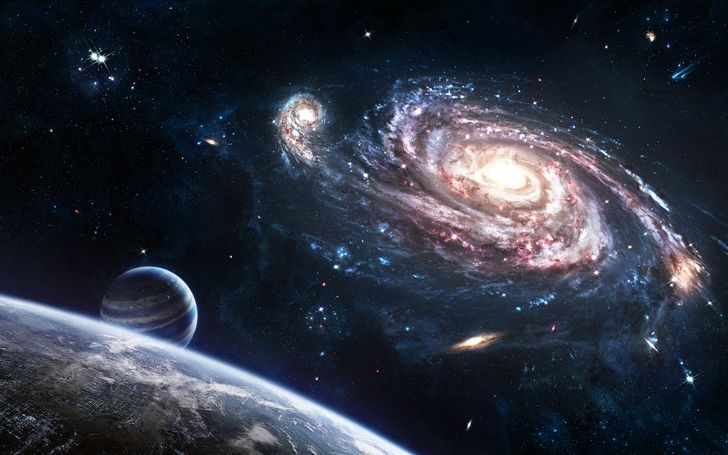 Comet Definition Outer Space Galaxies Planets Comet Cities
