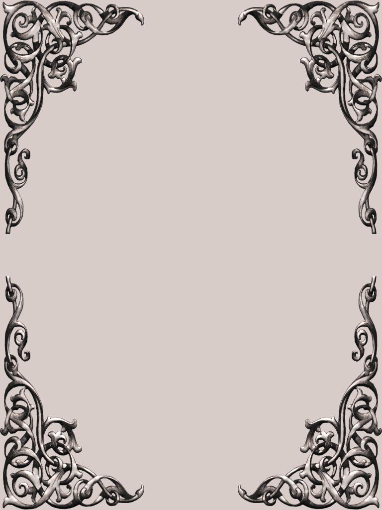 Corner Photo Frames th+=+fancy+corner+scroll+frame+set (768×1024) | scrapbook