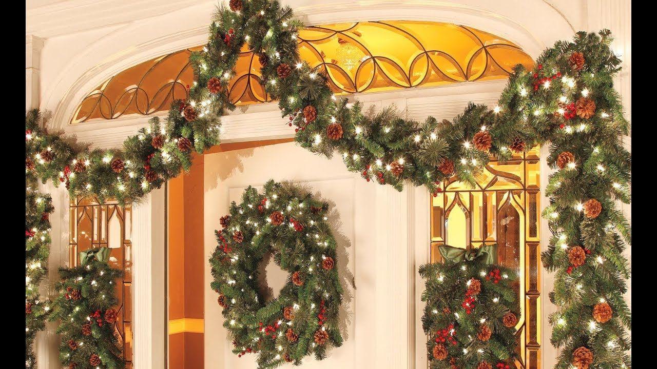 Christmas Decorations Ideas 2018 Christmas Garland Decor