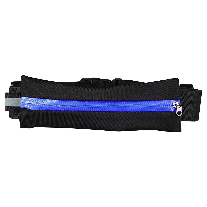 eb5e04f1eddc Rocon Waist Pack, Waterproof Running Belt Zippered Fitness Belt Fits ...