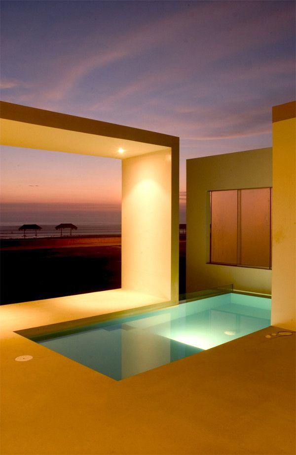 Small Beach House – Cool Cut-Out Design in Peru