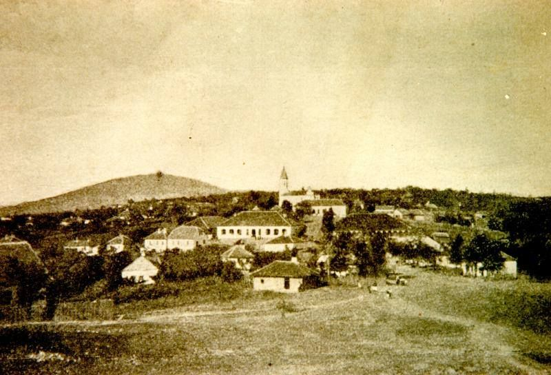 Ripanj with Avala mountain in the background, 1910.