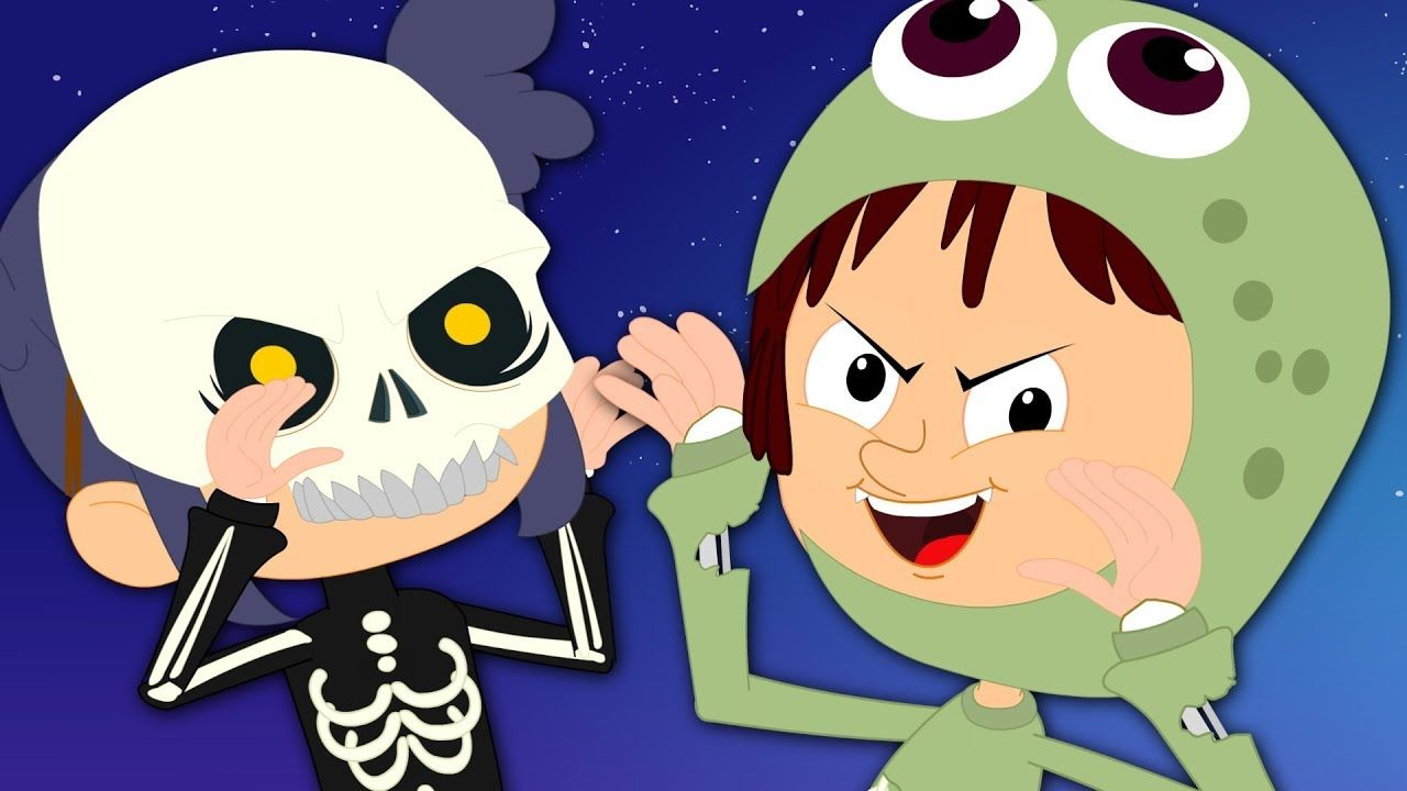 Halloween Is Back | Nursery Rhymes | Scary Song For Kids | Happy ...