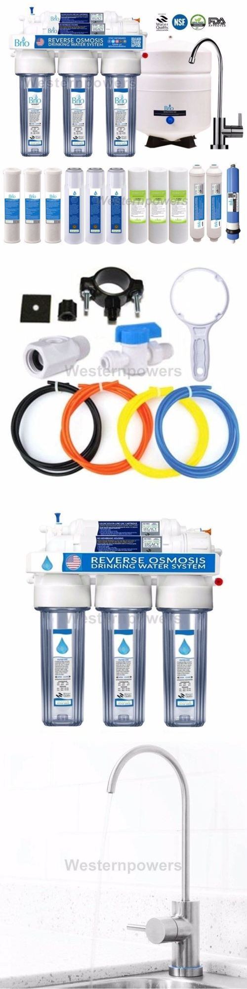 Home Ro Water Systems Water Filters 20684 5 Stage Home Drinking Reverse Osmosis Water