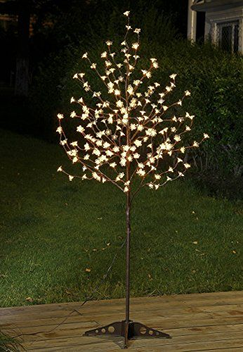 $5400 Lightshare 6FT 208LED Pear Blossom Tree Light,Warm White