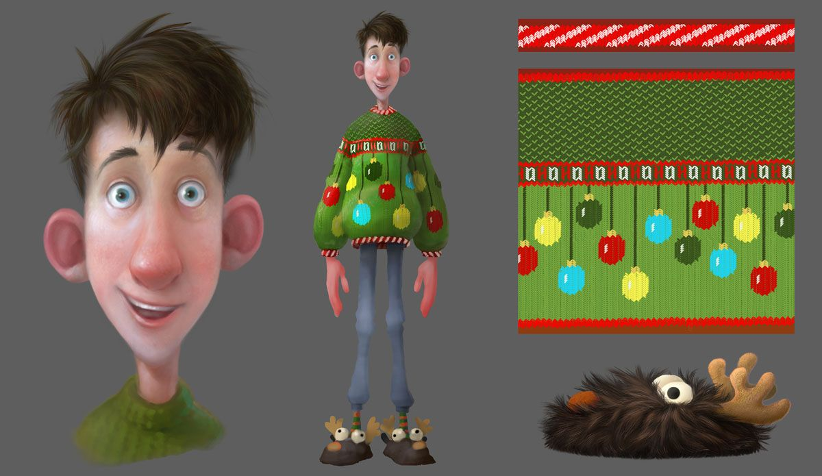 Arthur Christmas Characters.Pin By Yuliya Osyka On 2d Art Arthur Christmas Texture