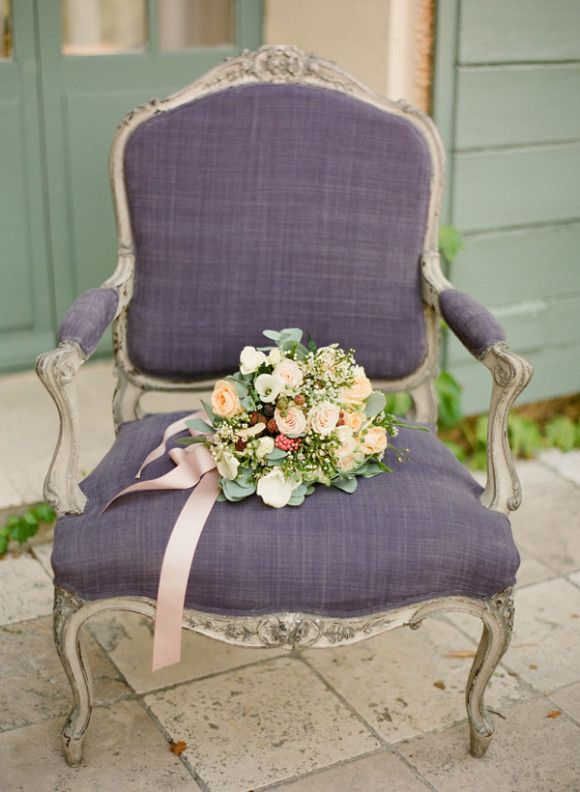 Lovely purple chair