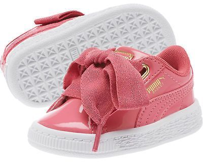 946c4b12412 PUMA Basket Heart Patent Gold Kids Sneakers | Products | Puma basket ...