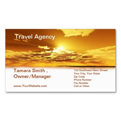 Travel Agency Business Card Template This Beautiful Business Card - Beautiful business card templates