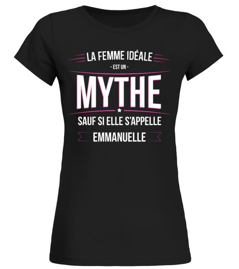 Emmanuelle ideale Emmanuelle . T Shirt collector   T shirt