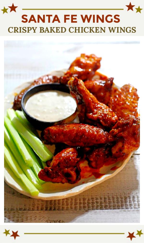 Santa Fe Wings Crispy Baked Chicken Wings Recipe Best Of