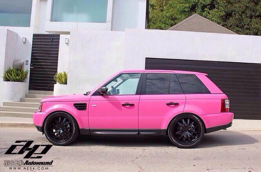 Pink range rover! #pinkrangerovers Pink range rover! #pinkrangerovers Pink range rover! #pinkrangerovers Pink range rover! #pinkrangerovers