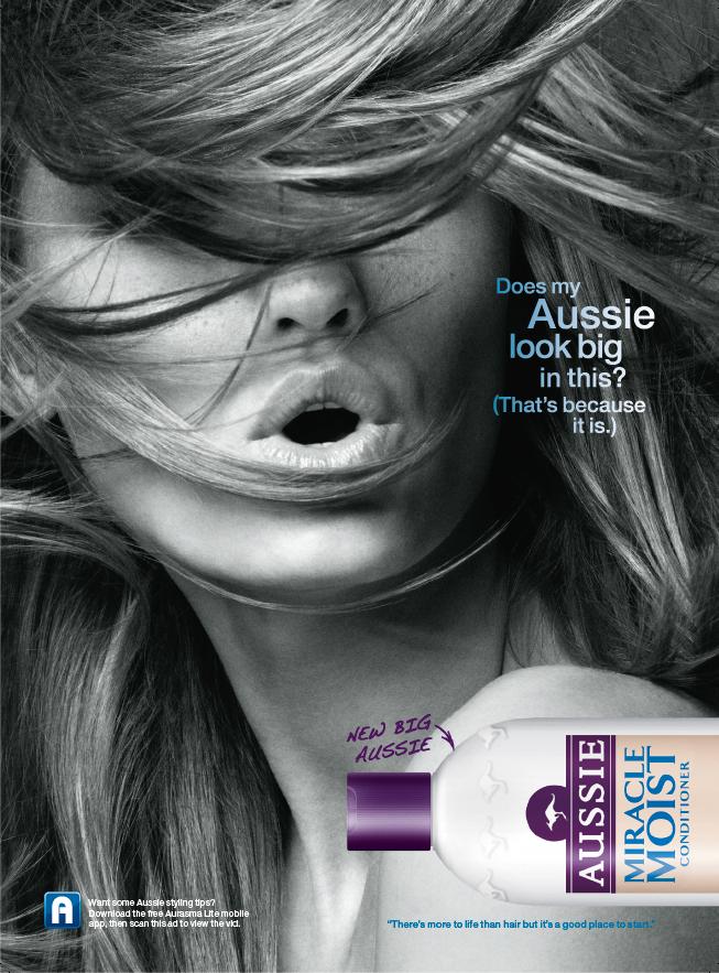 Aussie Haircare launched a print campaign using Aurasma ...