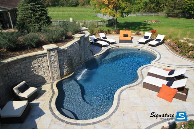 Calypso Model Pool Built By Signature Pools In Campton