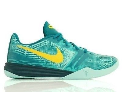 newest 7f70b 34b8a NEW NIKE KOBE MENTALITY TEAL GREEN YELLOW 704942-300 LAKERS BRYANT SZ 10.5  Clothing, Shoes   Accessories Men s Shoes Athletic  nike  jordan  shoes ...