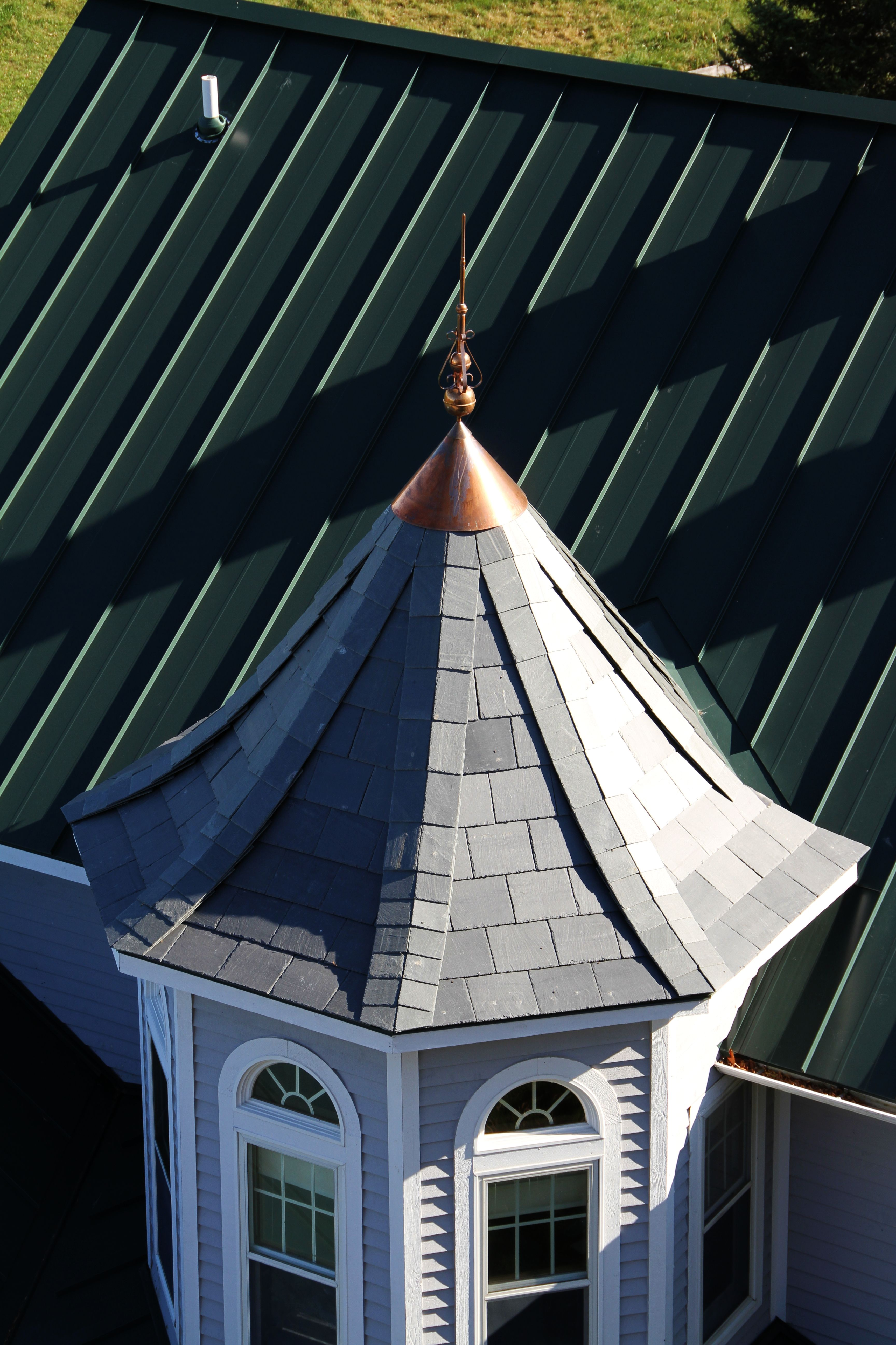 Best Standing Seam Roof Hartford Green Metal Provided Coated 400 x 300