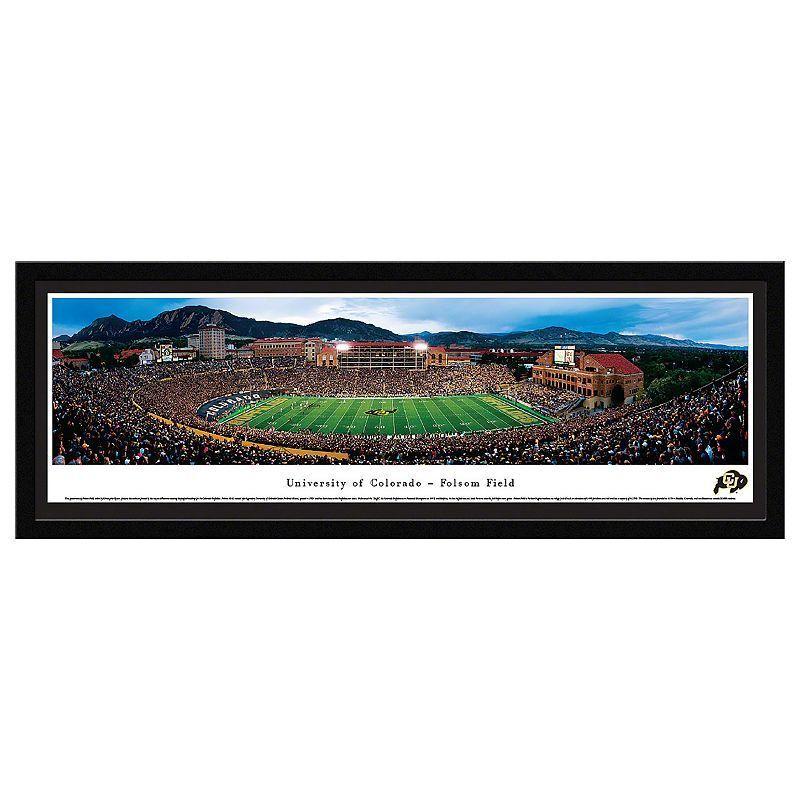Colorado Buffaloes Football Stadium Framed Wall Art, Multicolor ...