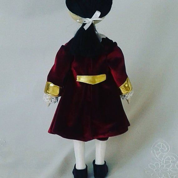 Artdoll Historical doll vintage doll collectible doll cloth doll #historicaldollclothes