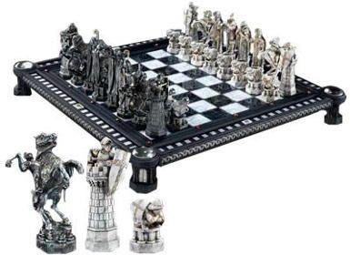 Harry Potter Chess Set I wish I knew how to play Harry Potter
