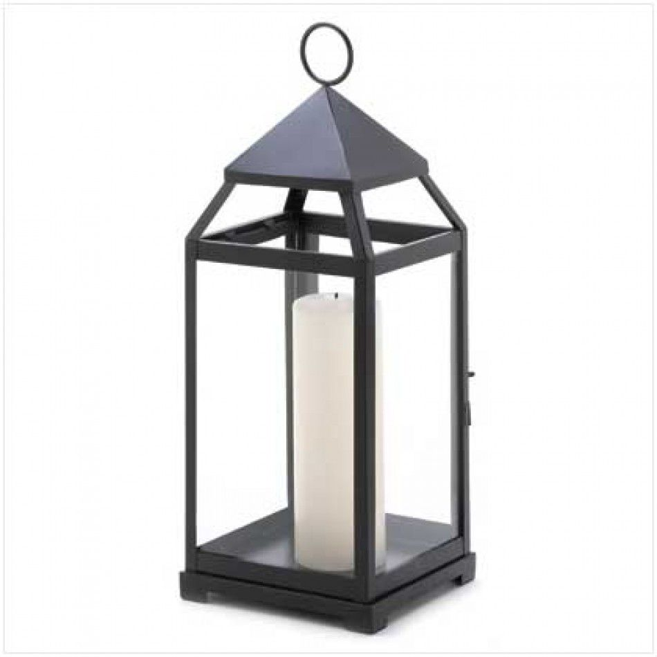 Large contemporary candle lantern large contemporary lantern