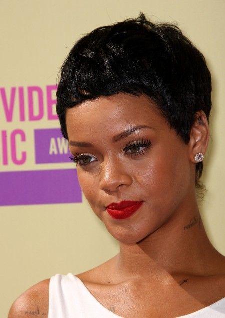 2013 Short Hair Trends Rihanna Short Black Boy Haircut In 2020