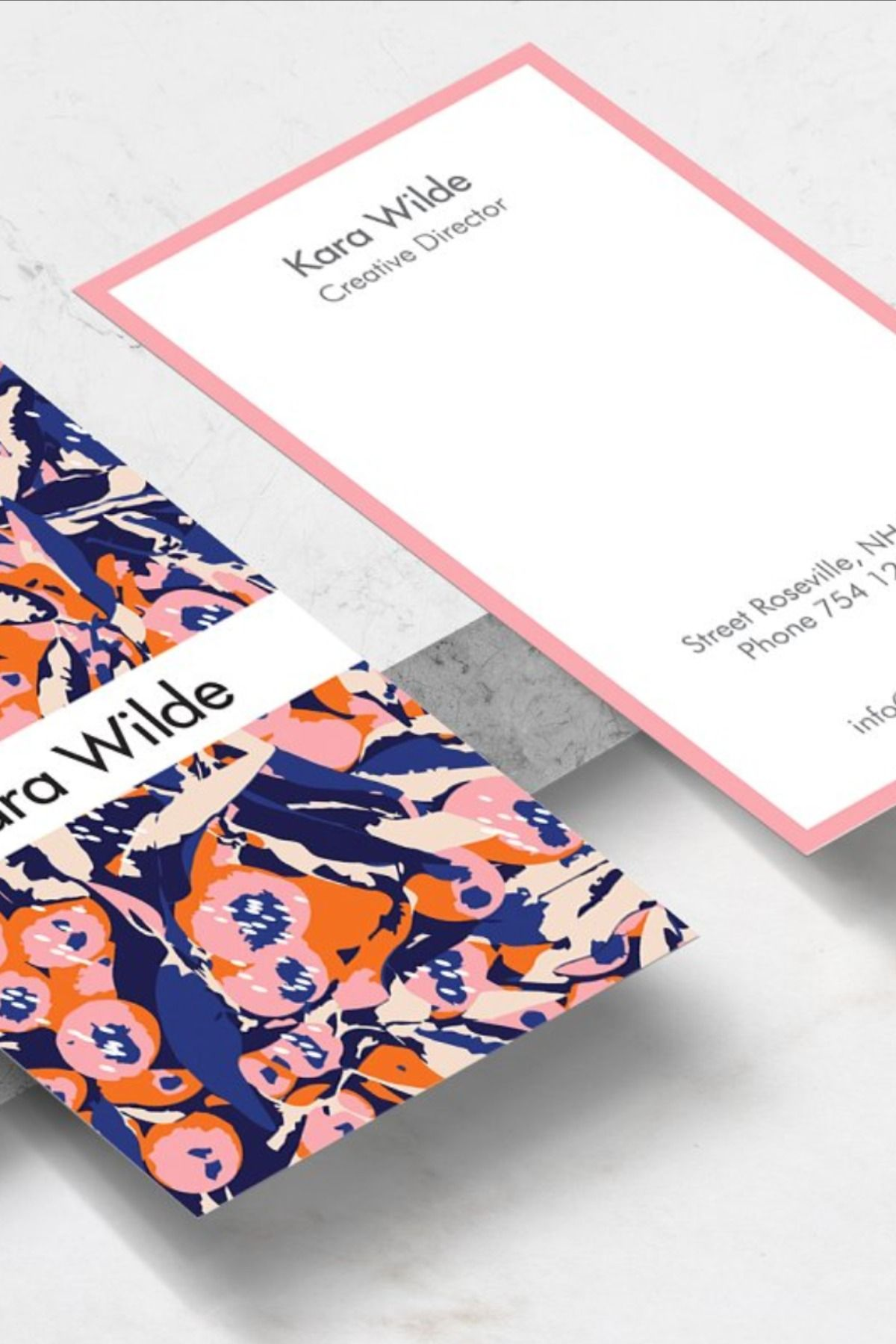 Vanity Business Card Template Business Card Template Business Card Design Card Design
