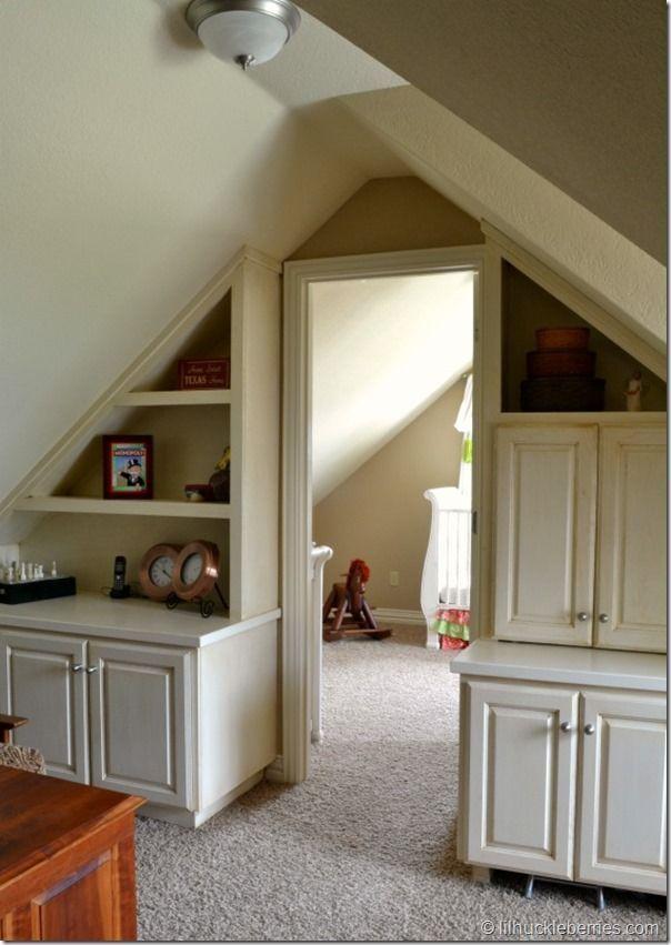 Making Better Use Of Space Dividing A Bonus Room Attic Bedroom Small Attic Remodel Attic Bedrooms