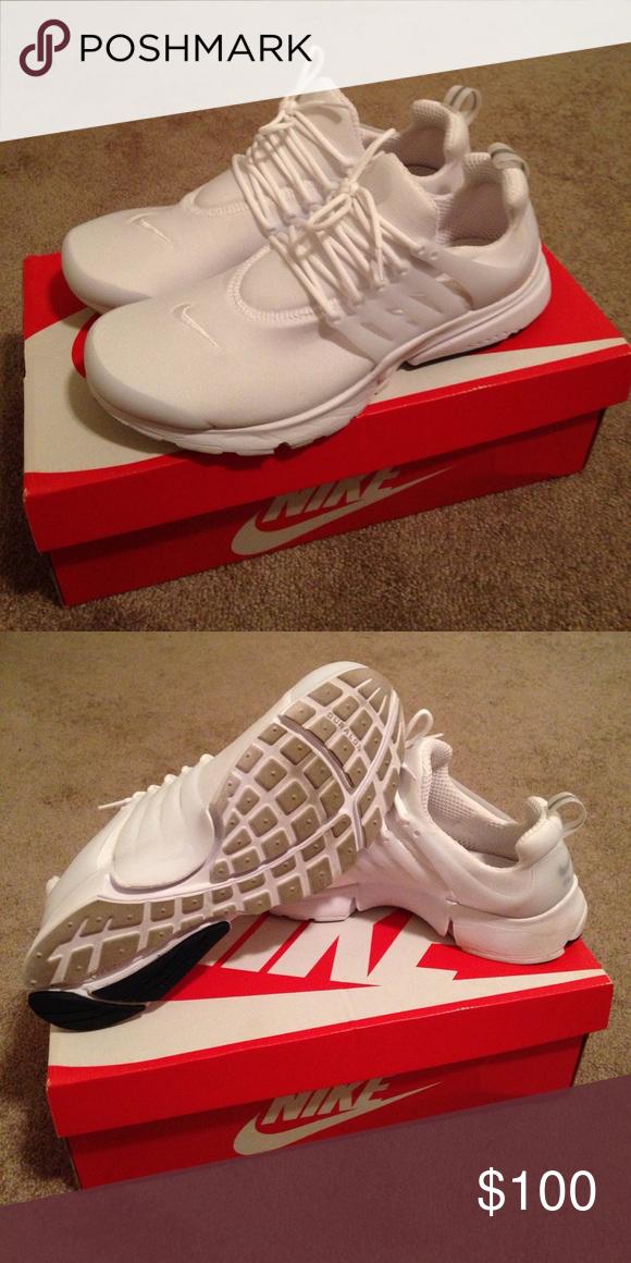 White Nike Air Presto Essentials Brand New only worn twice 06d2cf8bba