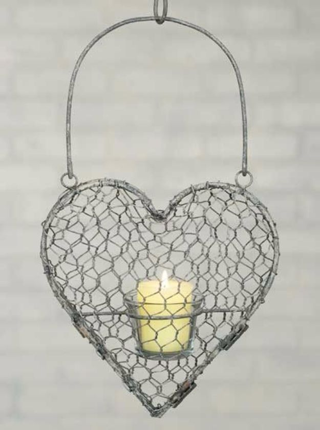 41 Genius Rustic Decor Ideas Made With Chicken Wire | Rustic ...
