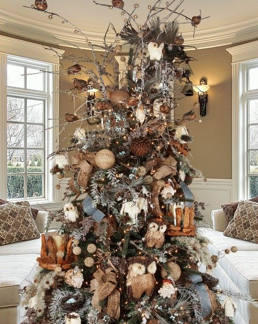natural winter deluxe christmas tree decorating kit - Christmas Tree Decoration Kits