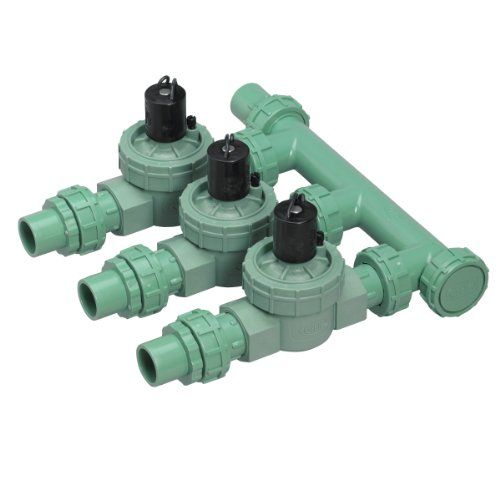 5 Pack Orbit Irrigation Valve Manifold System Three Valves Click On The Image For Additional Details Irrigation Valve Orbit Irrigation Sprinkler