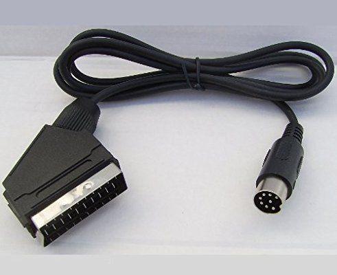 Master System 1 RGB Scart-Kabel f/ür Sega Megadrive 1