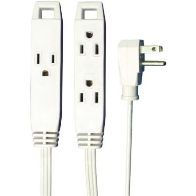 Axis 8 ft. 3-Outlet, 16-Wire Gauge, 3-Conductors Wall