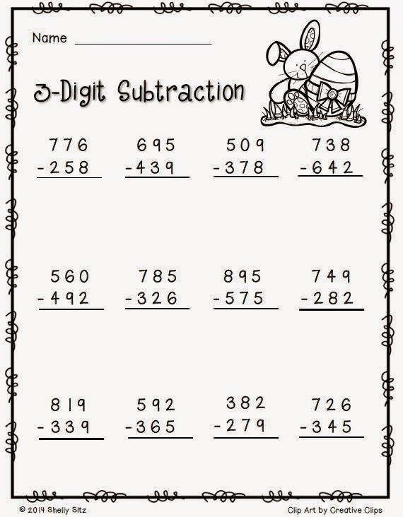 Free Easter Math Worksheets 2nd Grade Math 2nd Grade Math Worksheets Free Math