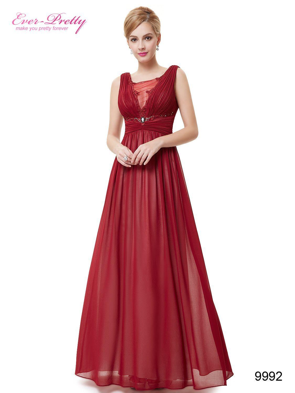 7a82c6623307 Occasion: Formal Evening Item Type: Evening Dresses Waistline: Empire  is_customized: No Fabric Type: Chiffon Dresses Length: Ankle-Length  Neckline: V-Neck ...