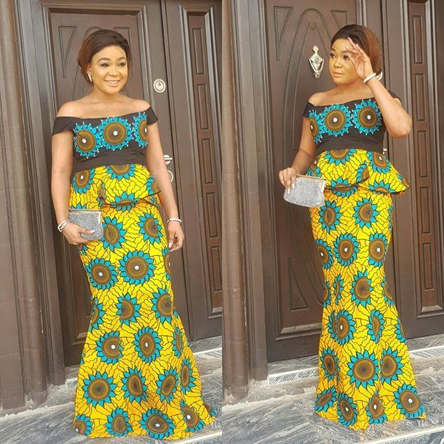 New Ankara Styles Siks Nd Tops: Here Are Pictures Of Latest Ankara Peplum Styles In 2018