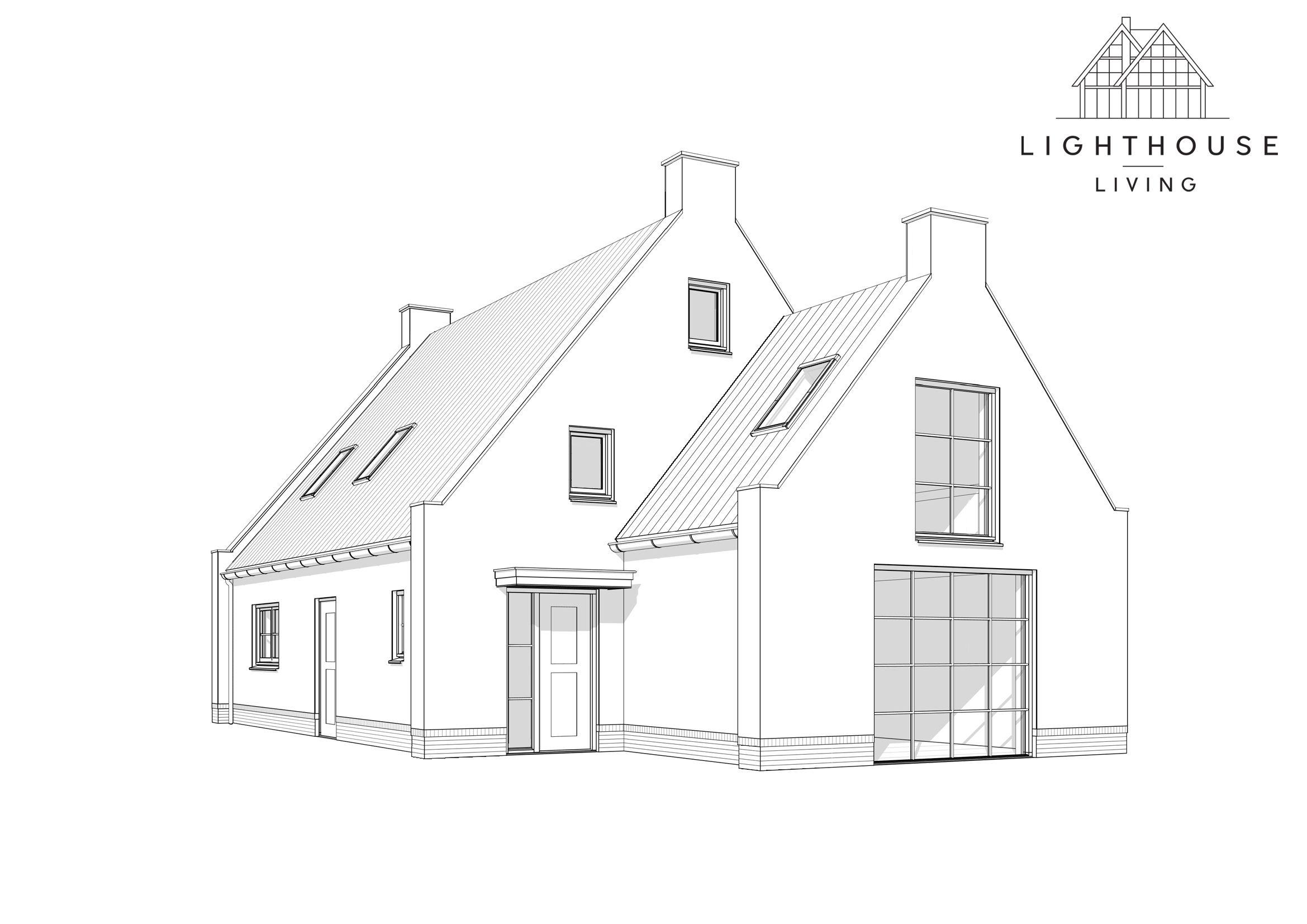 Bouw Je Eigen Droomhuis Met Lighthouse Living Zelfbouw Bouw Je Eigen Huis In 2021 Droomhuis Huis Tekenen Architectuur Huis