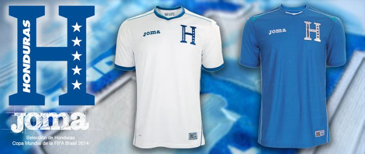 574bfb1c8 This is the Honduras 2014 World Cup Jersey that has been released by Joma  Sport. Have a look.