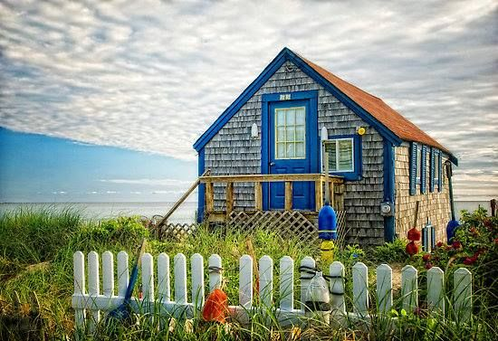 Tiny Beachfront Cabin
