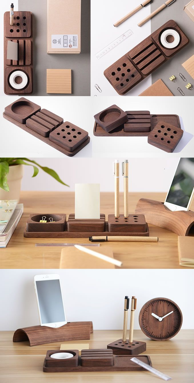 You Can Make Any A Desk Organizer At Home By Yourself It Is Interesting Creative And Cheaper In Th Desk Organization Diy Stationery Organization Diy Desktop