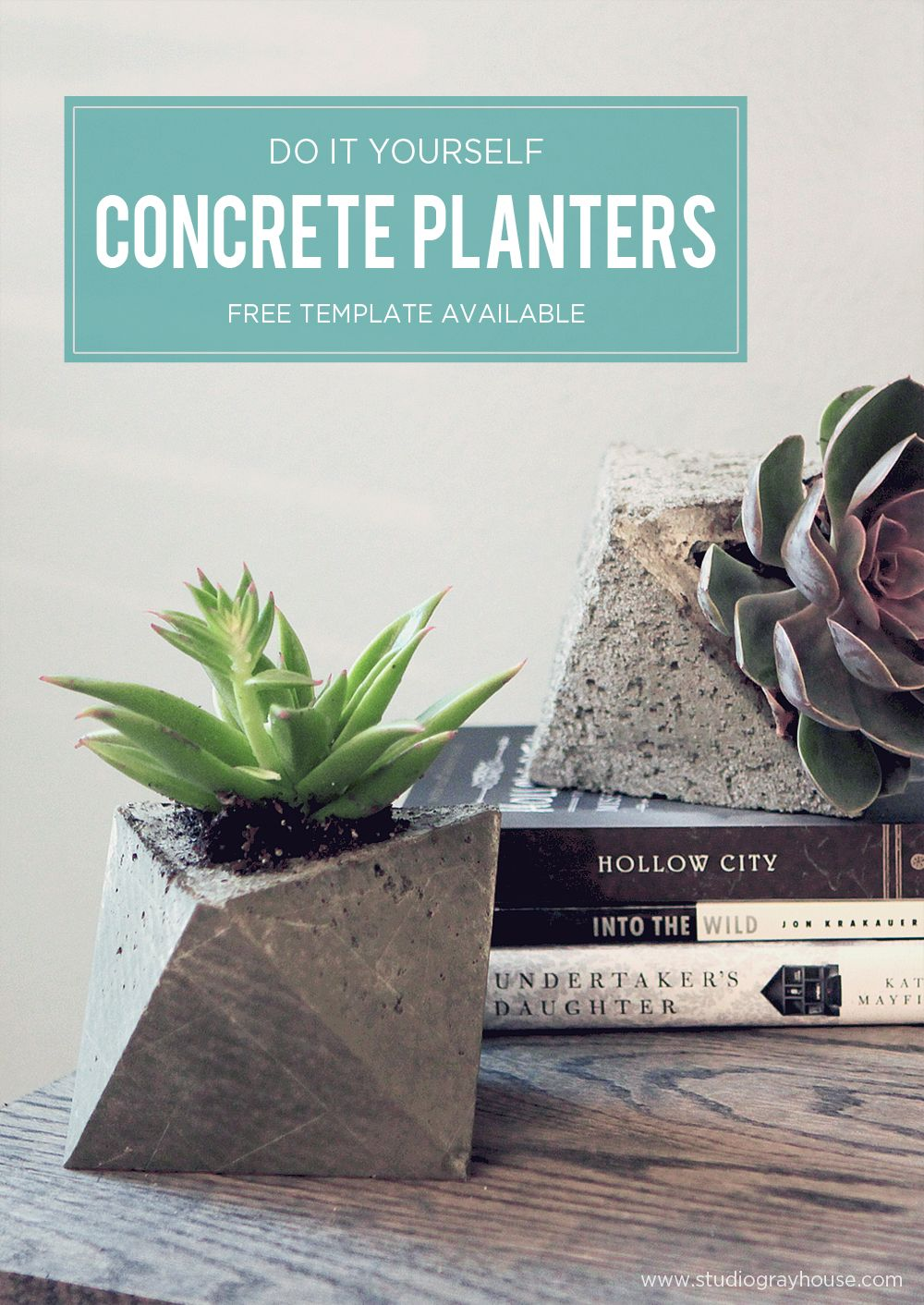 Diy concrete planters cement concrete projects pinterest diy geometric concrete planters made from a cardboard mold easy and inexpensive diy home decor solutioingenieria Image collections