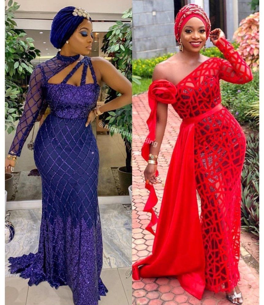 Stunning Aso Ebi Wedding Guest Styles 2019 African Lace Styles African Lace Dresses Lace Fashion