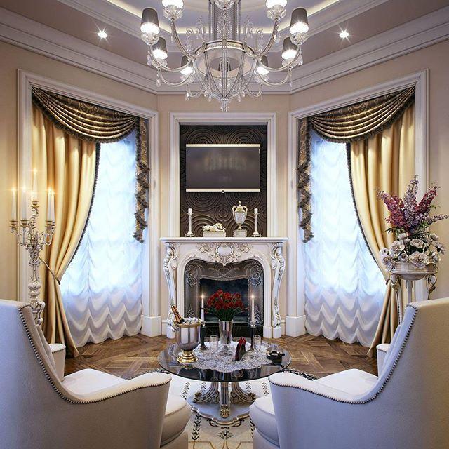 "Queen Qatar Luxury Homes: Luxury ""Master Bedroom"" Qatar By Taher Design Studio"