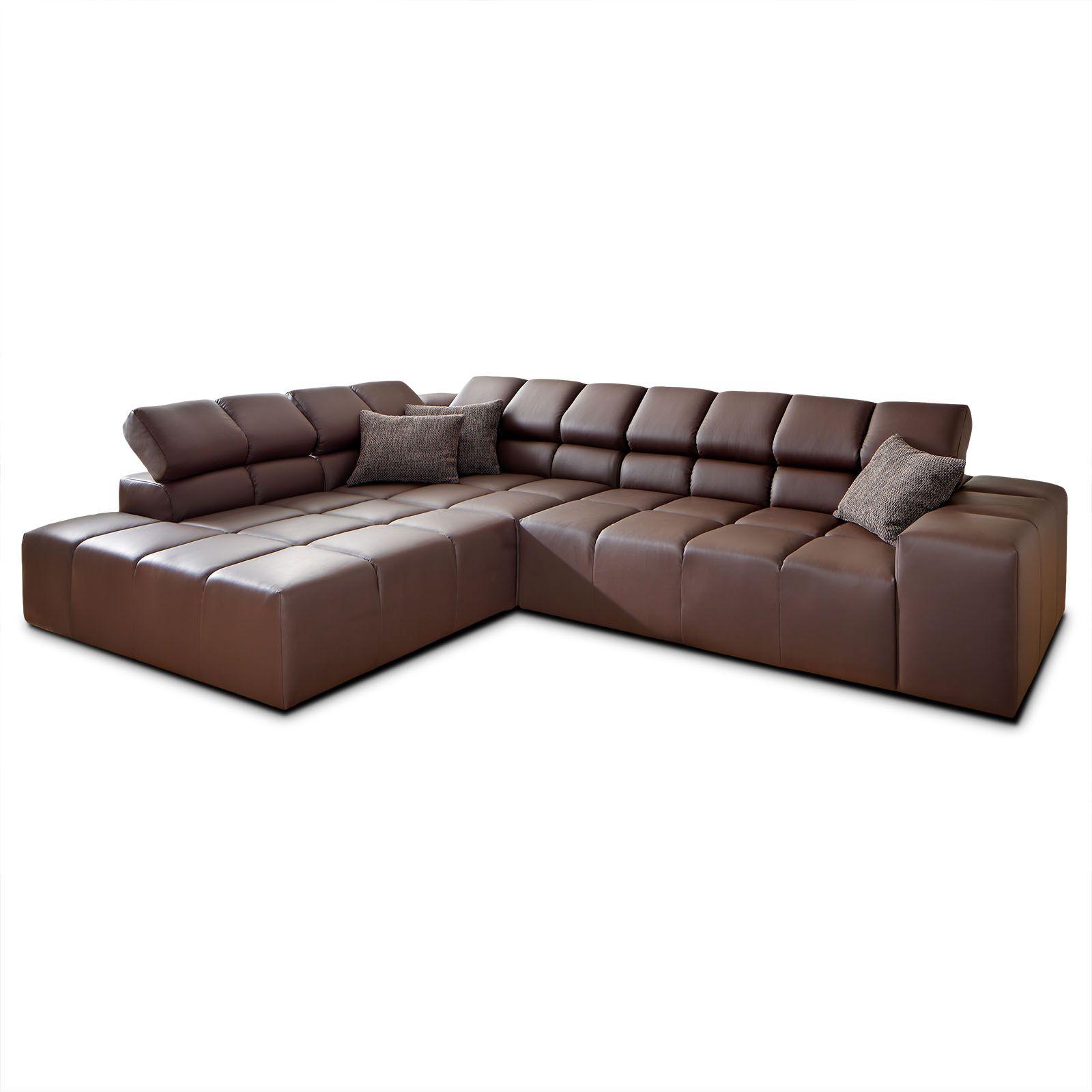 billig echtleder ecksofa wohnen ecksofa sofa et. Black Bedroom Furniture Sets. Home Design Ideas