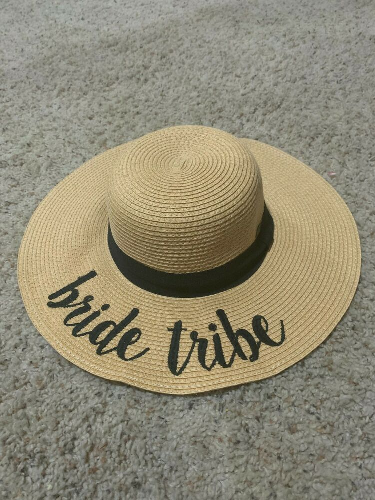 f1ed2251280c0 CC Women s Paper Weaved Beach Time Embroidered Quote Floppy Brim CC Sun Hat