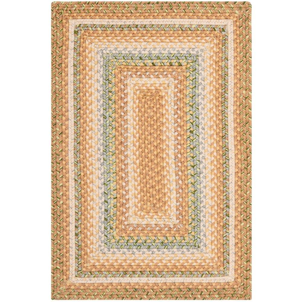 Safavieh Braided Tan Multi 2 Ft X 12 Ft Runner Rug Brd314a 212 The Home Depot Throw Rugs Country Rugs Area Rugs
